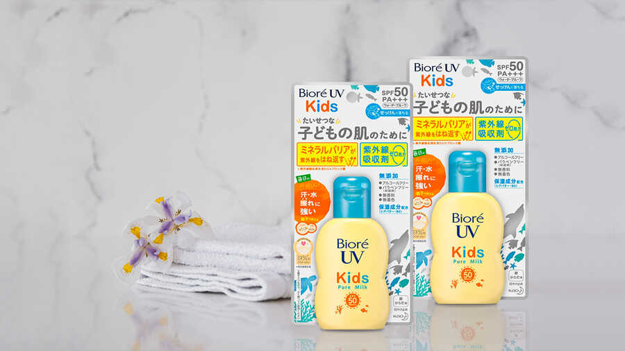Sữa Chống Nắng An Toàn Cho Trẻ Em Biore UV Kids Milk