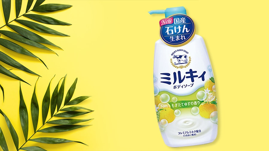 Sữa tắm hương hoa cam chanh Cow Brand cow 550ml