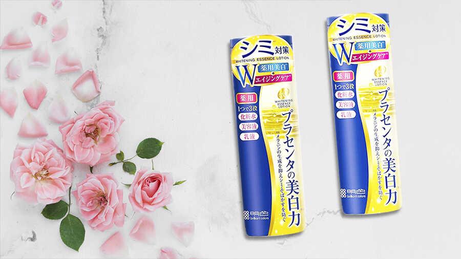 Nước hoa hồng dưỡng trắng Placewhiter Meishoku 190ml