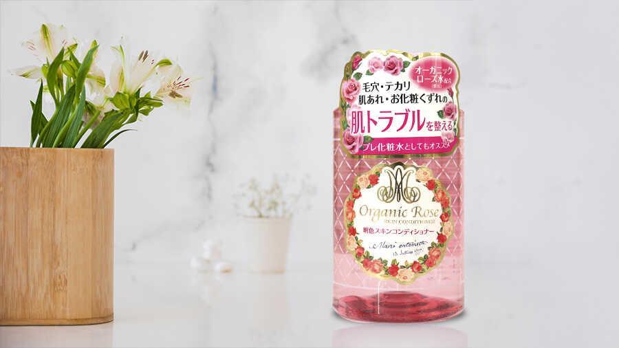 Nước hoa hồng dưỡng da Organic Rose Meishoku 200ml