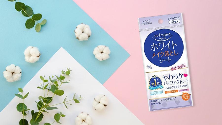 Refill Khăn Giấy Tẩy Trang Kosé Cosmeport Softymo White Cleansing Sheet B