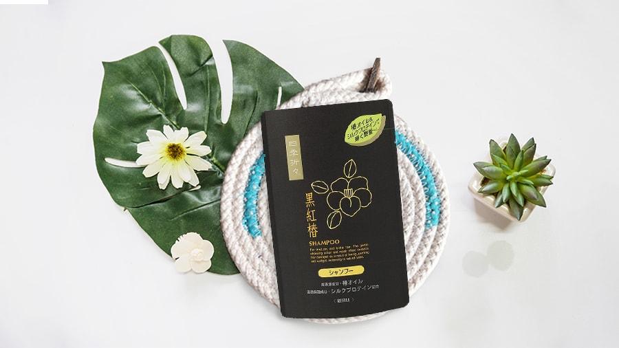 Dầu gội chiết xuất từ hoa trà đen Kumano 400ml