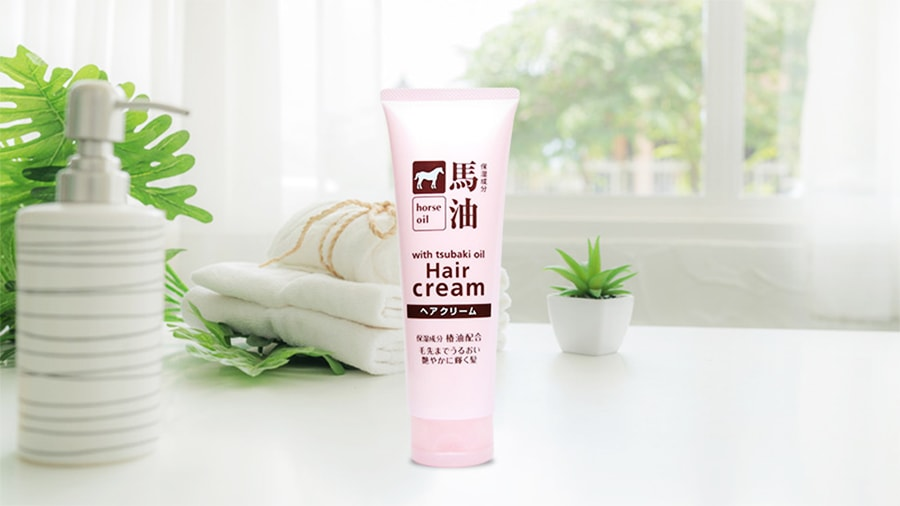 Kem dưỡng tóc chiết xuất dầu ngựa Kumano 160g