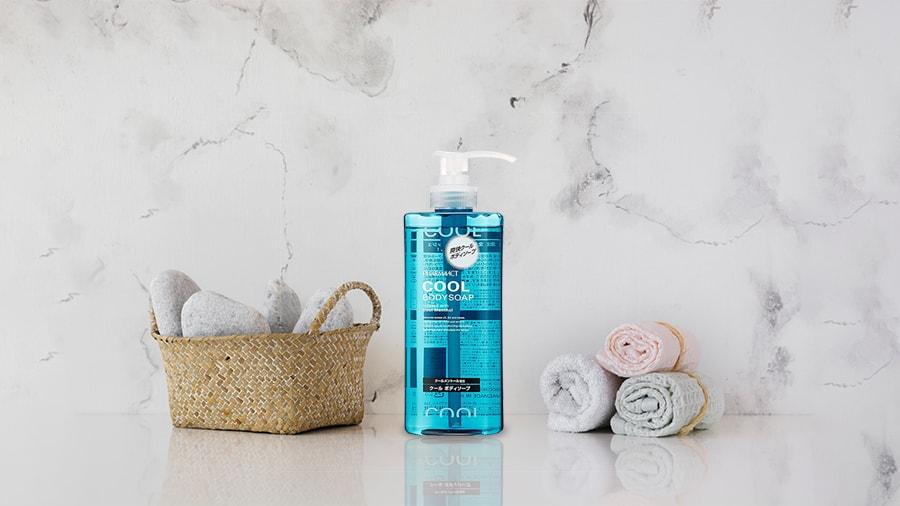 Sữa tắm cho nam Pharmaact Cool Body Soap 600ml Hương bạc hà