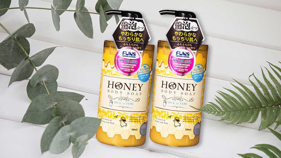 Sữa Tắm Honey Milk In Type 500ml