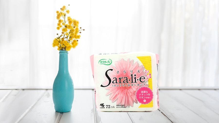 Băng vệ sinh Saralie hương thơm vải tự nhiên 72 miếng