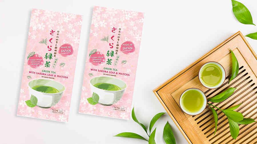 Trà xanh Sakura Matcha Nhật Bản