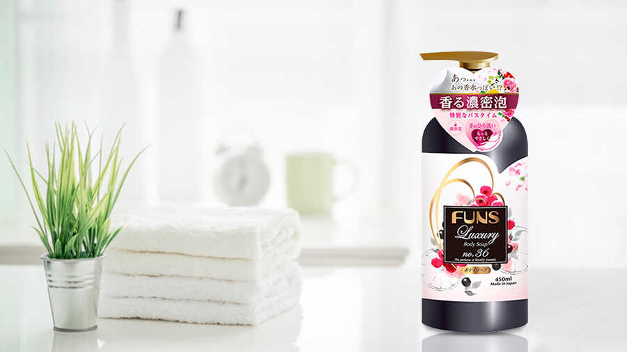Sữa Tắm Funs Luxury No.36 450ml