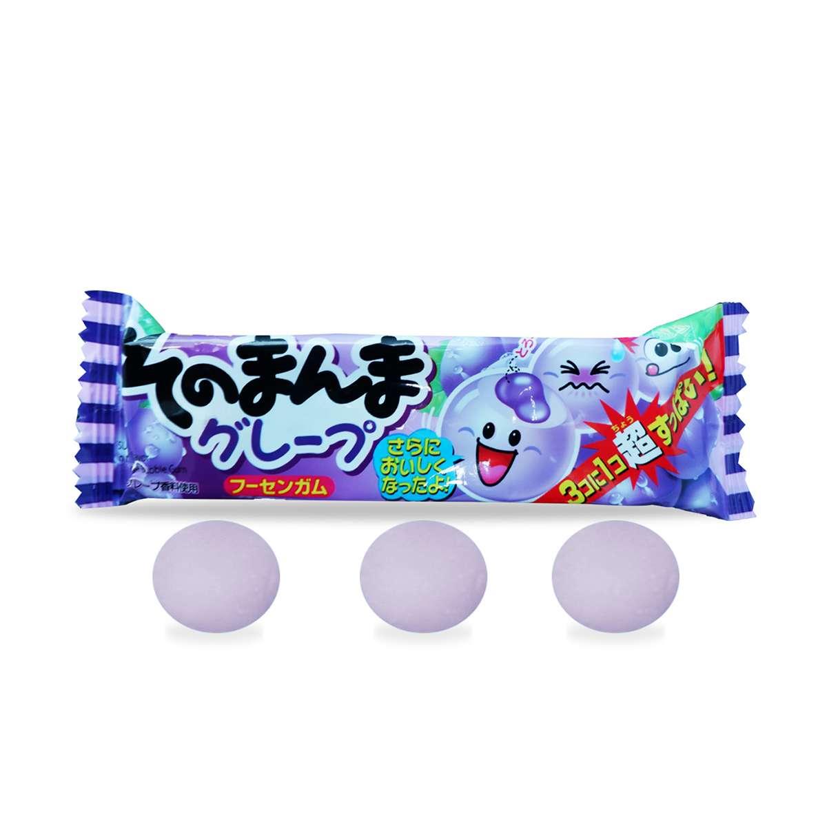 Kẹo cao su huong nho tím Nhật Bản