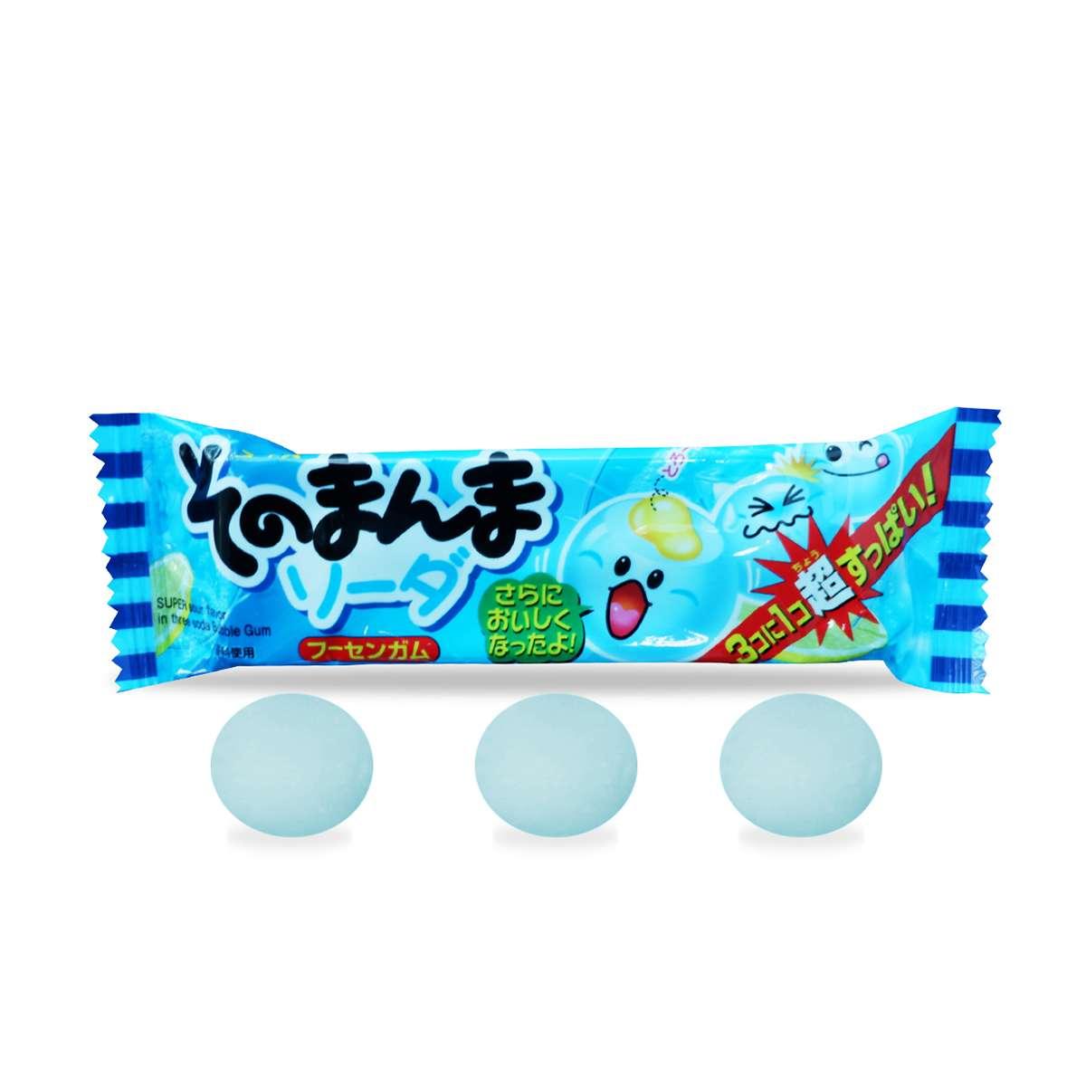 Kẹo cao su hương soda Nhật Bản