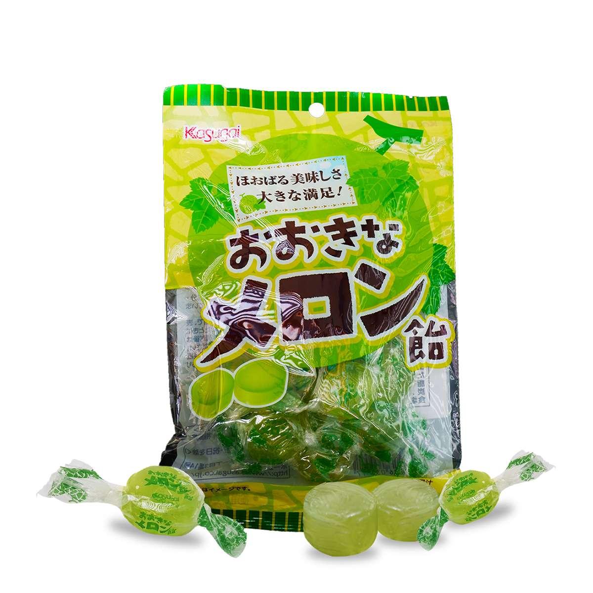 Kẹo ngậm kasugai hương vị dưa lưới Nhật Bản