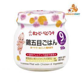 Thức Ăn Dinh Dưỡng Cơm Hầm Gà Và Rau Củ Kiểu Nhật Kewpie 100g