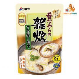 Cháo Ăn Liền Vị Cua Và Trứng Zosui Kanidashi Shitate (Shimaya) 230g
