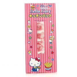 Set 20 Túi Ny Lông Đựng Thực Phẩm Hình Hello Kitty
