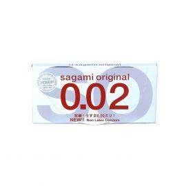 Bao Cao Su Sagami Original 0.02 Hộp 2 Cái