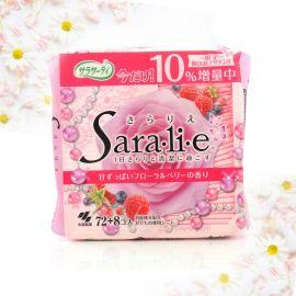 Băng Vệ Sinh Saralie Hương Flower Berry 72 Miếng