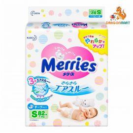 Bỉm - Tã Dán Merries Size S 82 Miếng