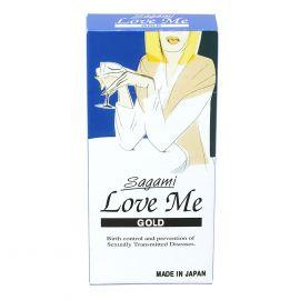 Bao Cao Su Sagami Love Me Gold/ Orange Hộp 10 Cái
