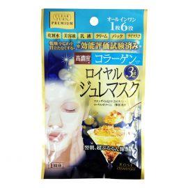 Mặt Nạ Sữa Ong Chúa Đa Năng Kosé Cosmeport Clear Turn Premium Royal Jelly Mask Collagen