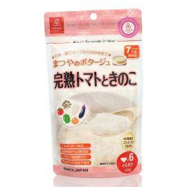 Cháo Gạo Koshihikari Ăn Dặm Với Cà Chua Chín Và Nấm Matsuya