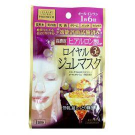 Mặt Nạ Sữa Ong Chúa Đa Năng Kosé Cosmeport Clear Turn Premium Royal Jelly Mask Hyaluronic Acid
