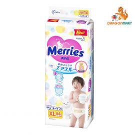 Bỉm - Tã Merries Dán Size XL 44 Miếng